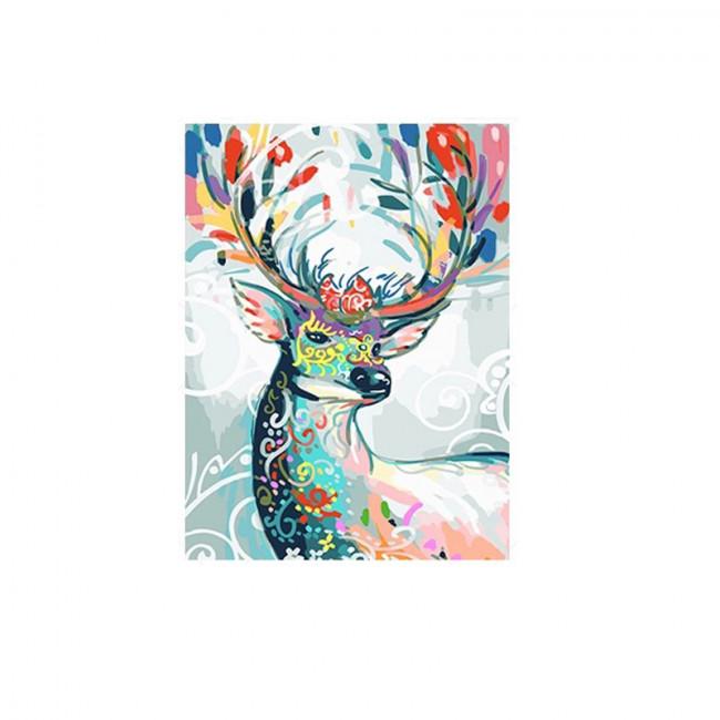 Kit pictura pe numere cu animale, DTP1339