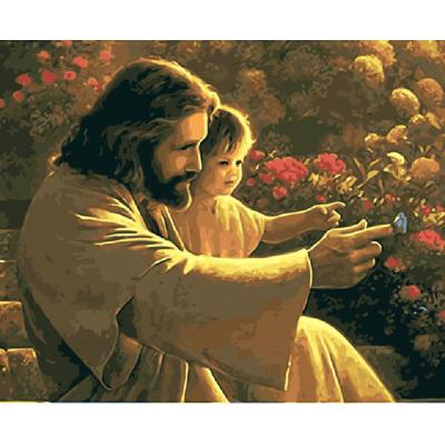 Kit pictura pe numere religioase, NDTP-1348R