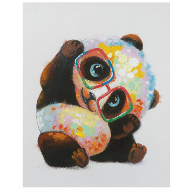 Kit pictura pe numere cu animale, DTP1413