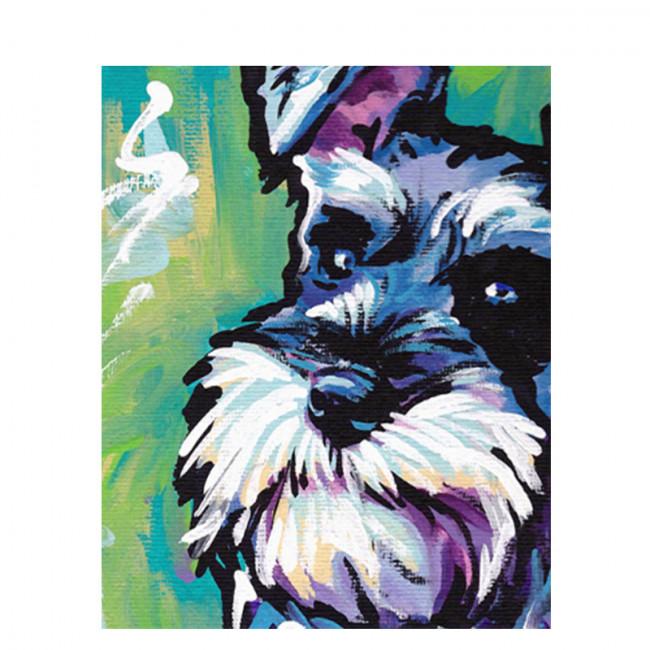 Kit pictura pe numere cu animale, DTP1429