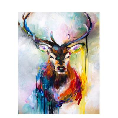 Kit pictura pe numere cu animale, DTP1442
