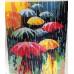 Kit pictura pe numere cu oameni, Rainy weather