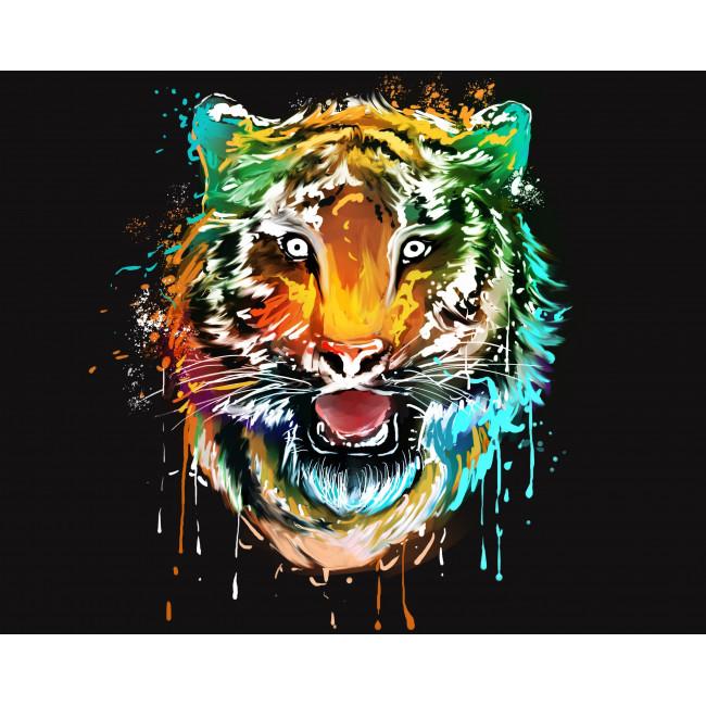 Kit pictura pe numere cu animale, DTP2075