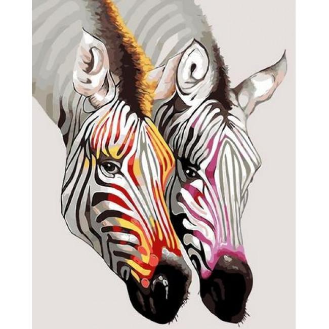 Kit pictura pe numere cu animale, DTP2264