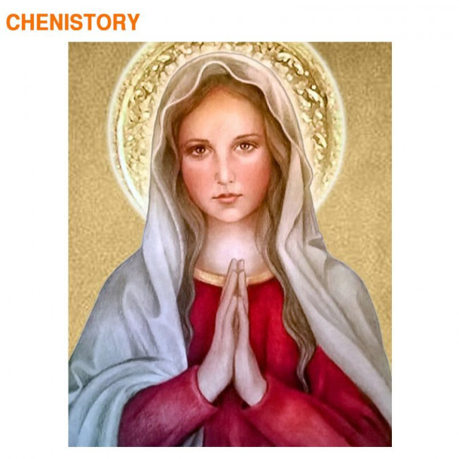 Kit pictura pe numere religioase, DTP3290