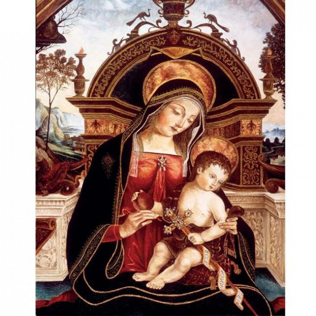 Kit pictura pe numere religioase, DTP3394