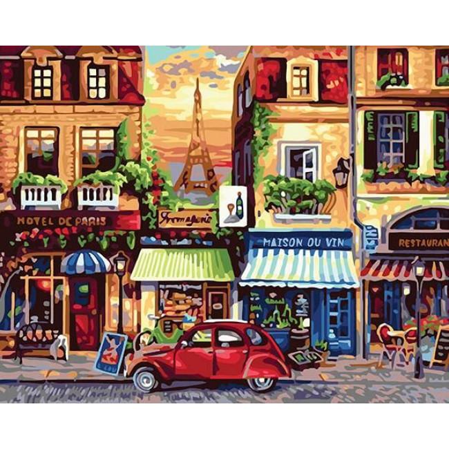 Kit pictura pe numere cu orase, DTP3657