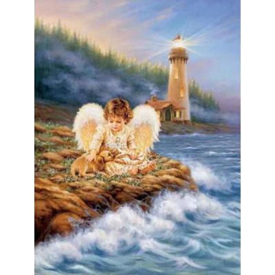 Kit pictura pe numere religioase, DTP4027