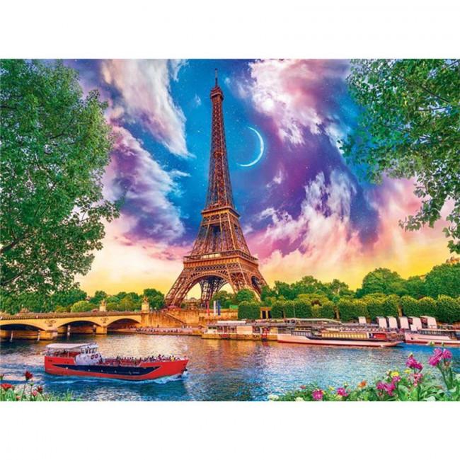 Kit pictura pe numere cu orase, DTP4038