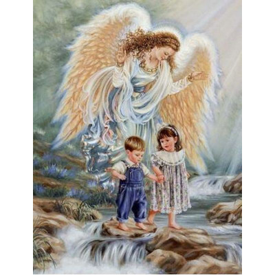Kit pictura pe numere religioase, DTP4195