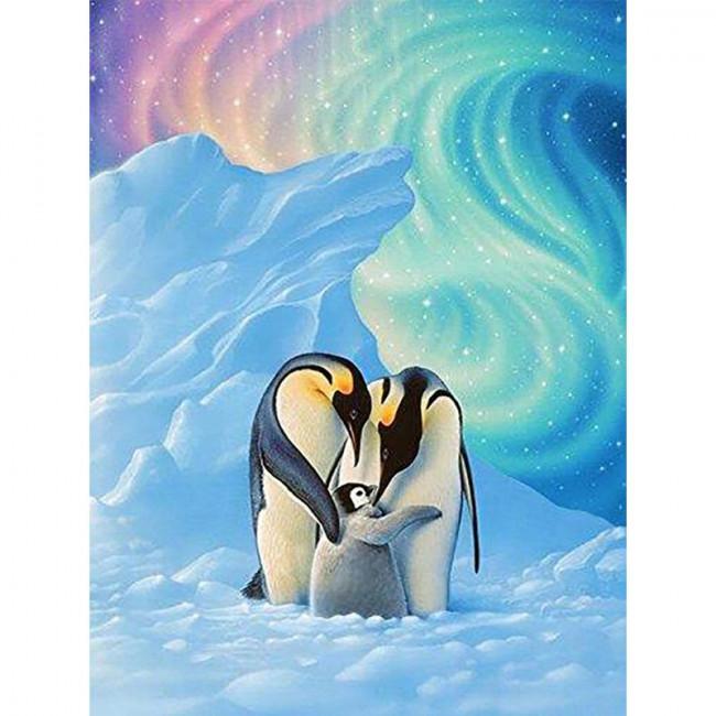Kit pictura pe numere cu animale, DTP4348