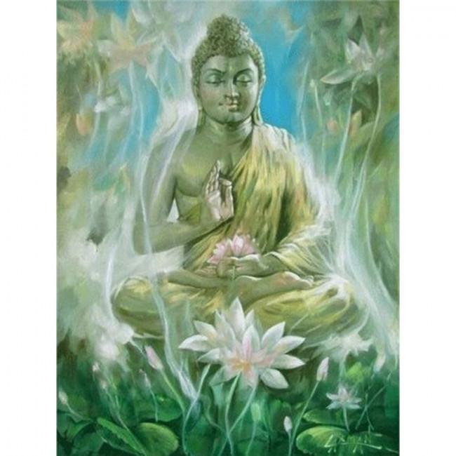 Kit pictura pe numere cu religioase, DTP4462