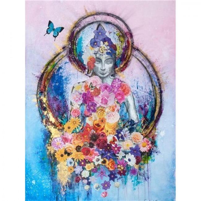 Kit pictura pe numere cu religioase, DTP4601