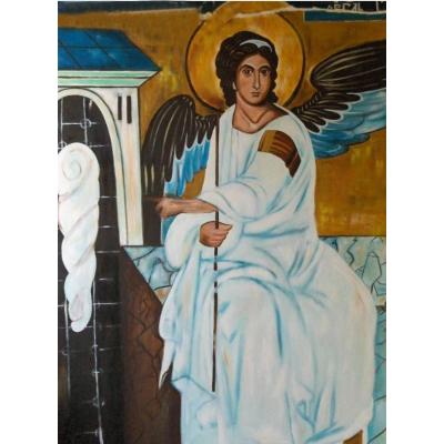 Kit pictura pe numere cu religioase, DZ4807