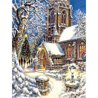 Kit pictura pe numere cu iarna, DZ4963