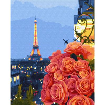 Kit pictura pe numere cu orase, DTP6130