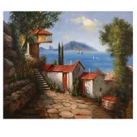 Kit pictura pe numere cu peisaje, DTP617