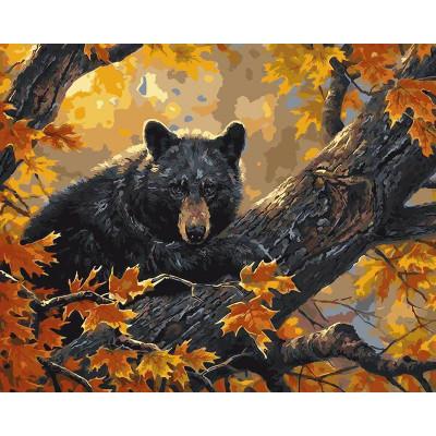 Kit pictura pe numere cu animale, DTP896