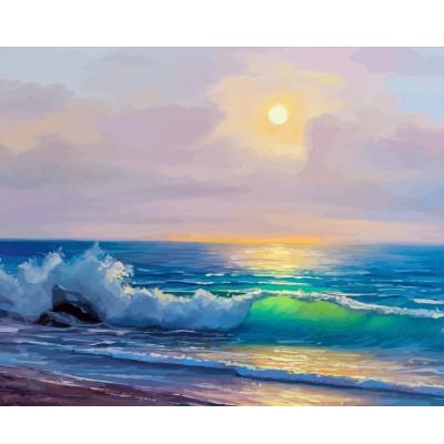 Kit pictura pe numere cu apa, DTP2756