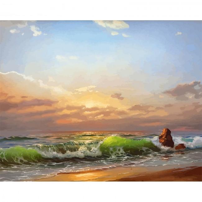 Kit pictura pe numere cu apa, DTP2759