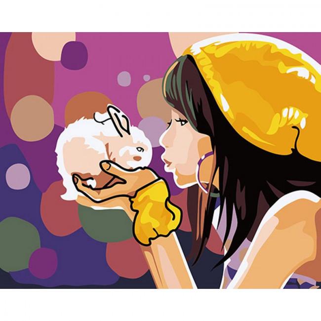 Kit pictura pe numere pentru copii, CDTP6