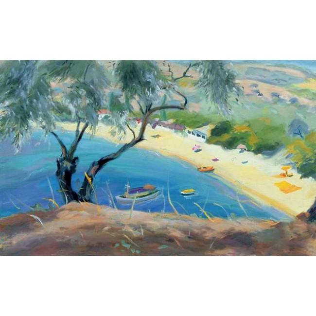Kit pictura pe numere cu peisaje, DTP2867