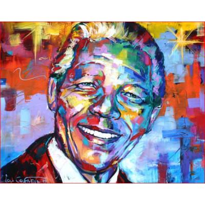 Kit pictura pe numere personalitati si picturi celebre, DTP3142