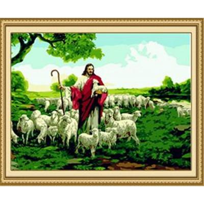 Kit pictura pe numere cu religioase, DTP3173