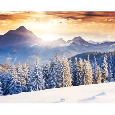 Kit pictura pe numere cu iarna, DZ2165
