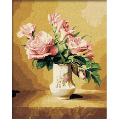 Kit pictura pe numere flori, DTP2795