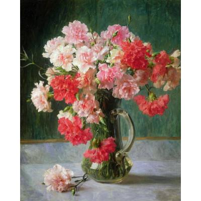 Kit pictura pe numere flori, DTP2797