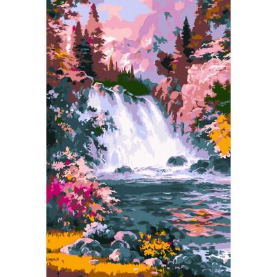 Kit pictura pe numere cu apa, NDTP-075