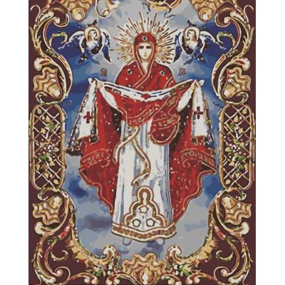 Kit pictura pe numere cu religioase, NDTP-270R