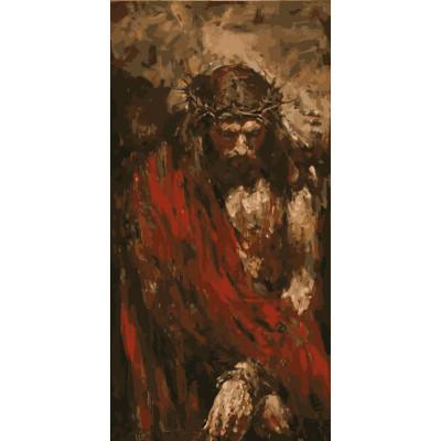 Kit pictura pe numere cu religioase, NDTP-040