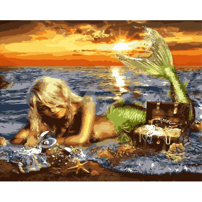 Kit pictura pe numere cu apa, NDTP-1547