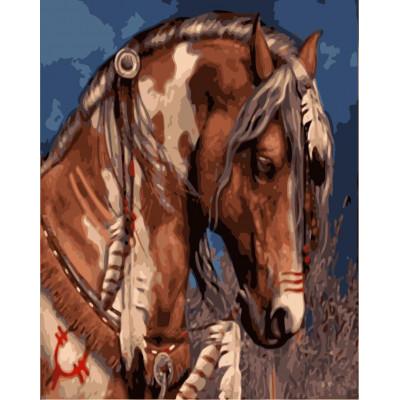 Kit pictura pe numere cu animale, NDTP-3096