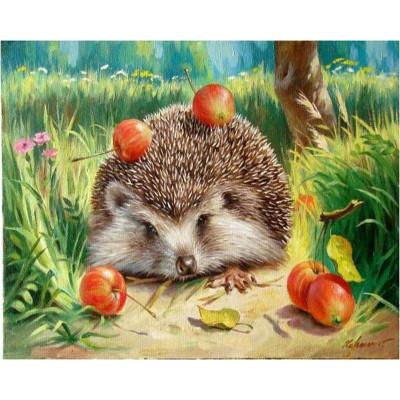 Kit pictura pe numere cu animale, DZ93