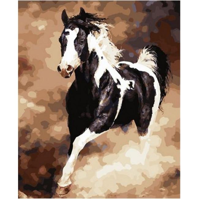 Kit pictura pe numere cu animale, DZ2493