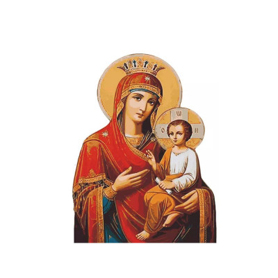 Kit pictura pe numere cu religioase, DTP2350