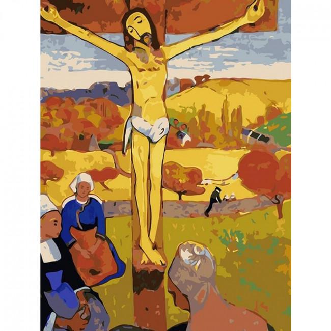 Kit pictura pe numere cu religioase, DTP2107