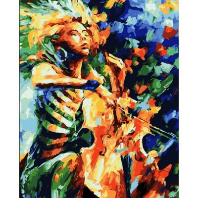 Kit pictura pe numere cu diverse, Passion