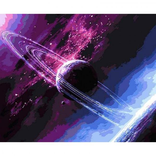 Kit pictura pe numere cu diverse, The beautiful Universe