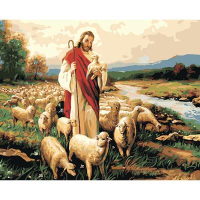 Kit pictura pe numere cu religioase, DTP1772