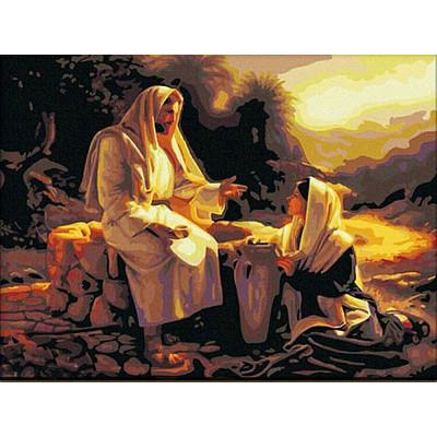 Kit pictura pe numere cu religioase, DZ1279