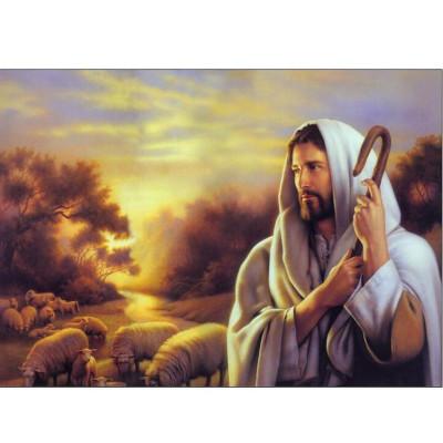 Kit pictura pe numere cu religioase, DZ1283