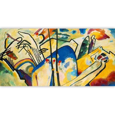 Kit pictura pe numere cu personalitati si picturi celebre, DTP1380