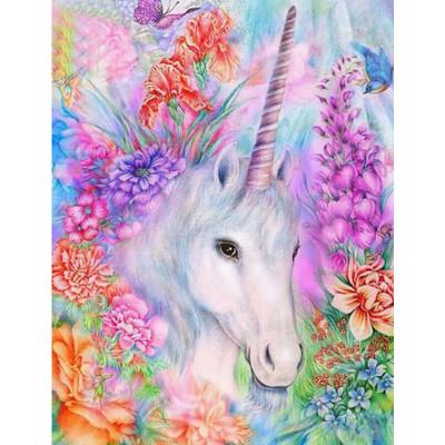 Kit pictura pe numere cu animale, DTP2548