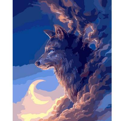 Kit pictura pe numere cu animale, DTP2575