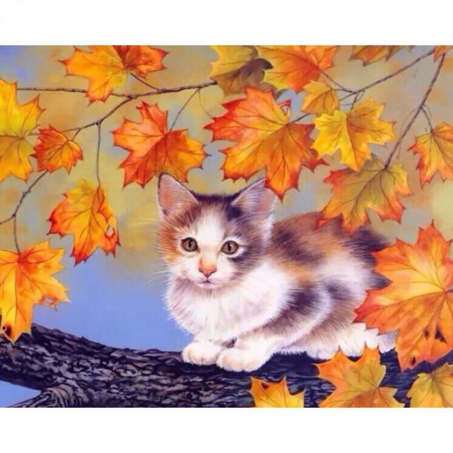 Kit pictura pe numere cu animale, DTP501