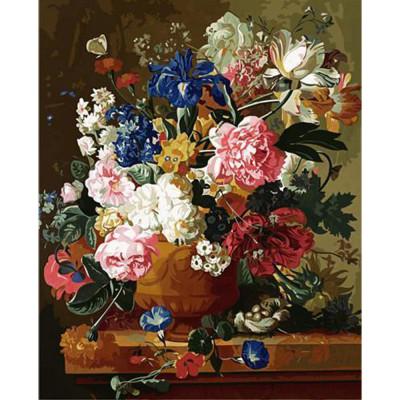 Kit pictura pe numere flori, DTP2457